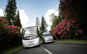 coach and minibus hire newcastle