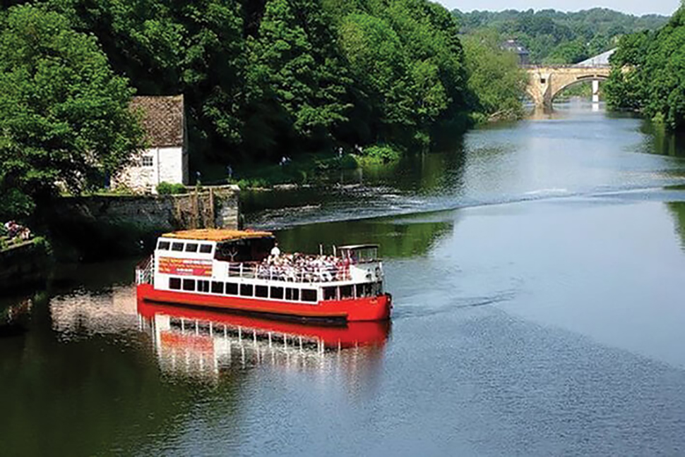 Wear River Cruise & Crook Hall