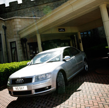 wedding car services north east